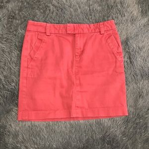 TOMMY HILFIGER coral/pink casual skirt pockets